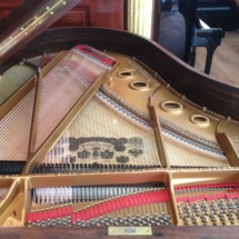 Table d'harmonie après réparation